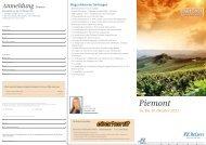 Piemont - Pforzheimer Zeitung