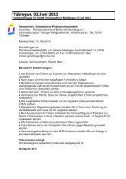 Tübingen, 03.Juni 2013 - Pferdezuchtverband Baden-Württemberg