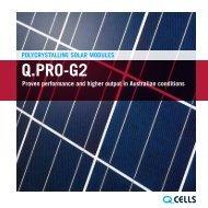 Brochure Q.PRO-G2 PDF-Download - Q-Cells