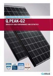 Q.PEAK-G2 - Q-Cells