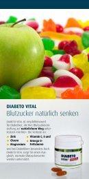 flyer: blutzucker natürlich senken - Quintessenz health products GmbH