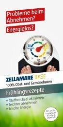 zellamare diätplan - Quintessenz health products GmbH