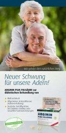 Neuer Schwung für unsere Adern! - Quintessenz health products ...