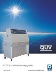 QUV Broschüre - Q-Lab