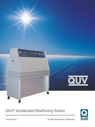 QUV Brochure - Q-Lab