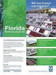 LL-9006 - Why Q-Lab Florida?
