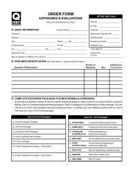 Test Services Order Form - Q-Lab
