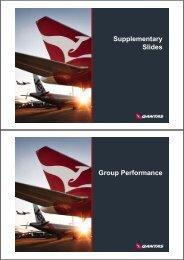 Investors presentation 2010 - Qantas