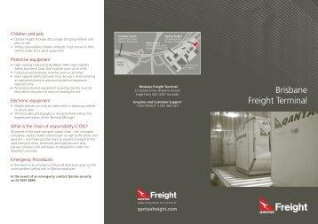 Brisbane Freight Terminal - Qantas