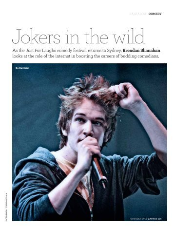 Comedy - The Australian Way October 2012 - Qantas