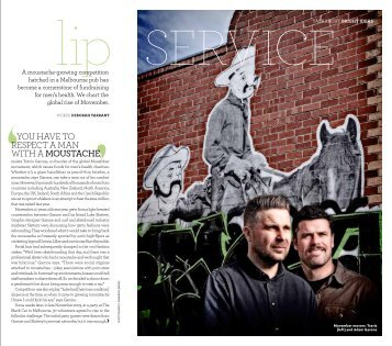 Lip Service - The Australian Way November 2012 - Qantas