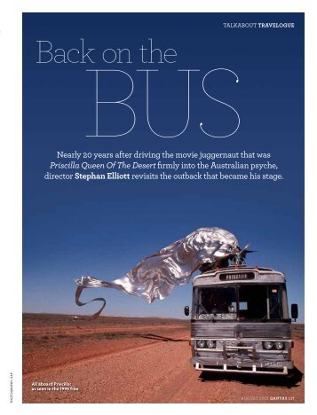 Back on the Bus - The Australian Way - August 2012 - Qantas