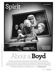 David Boyd - Art Dynasties- The Australian Way - August ... - Qantas