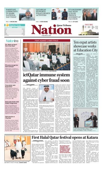 ictQatar immune system against cyber fraud soon - Qatar Tribune