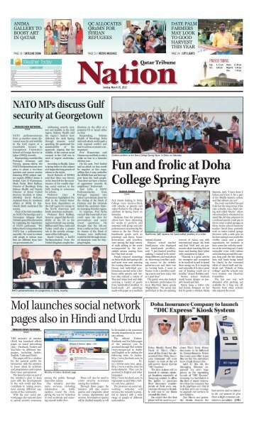 Fun and frolic at Doha College Spring Fayre - Qatar Tribune