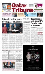 QA orders nine more Boeing 777 ER planes - Qatar Tribune