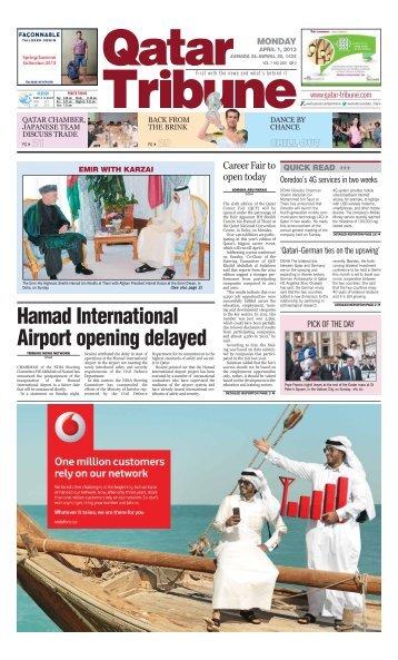 Hamad International Airport opening delayed - Qatar Tribune