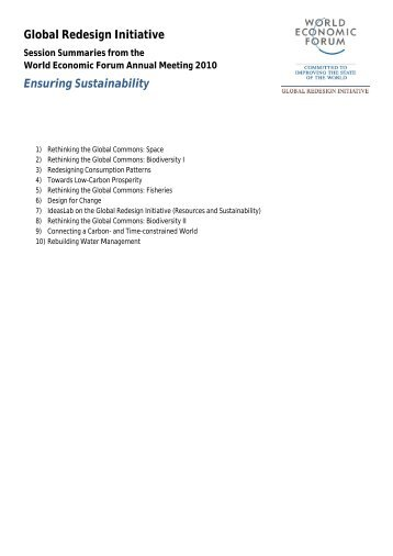 Ensuring Sustainability - Permanent Committee For Organizing ...