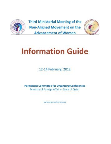 Third Ministerial Meeting of Non-Aligned Movement - Permanent ...