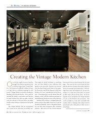 Creating the Vintage Modern Kitchen - Quintessential Barrington ...