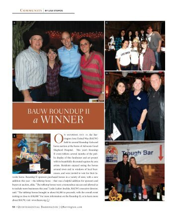 a WInneR - Quintessential Barrington Magazine