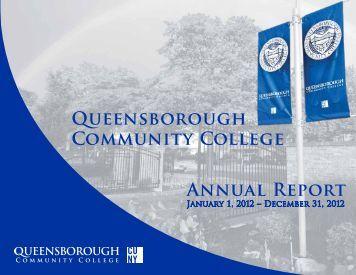 Annual Report 2012 - Queensborough Community College - CUNY