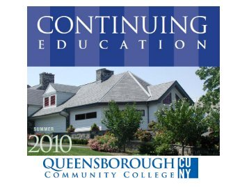 Queensborough Community College & The Office Of