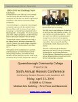 Spring '10 Honors Newsletter (PDF) - Queensborough Community ... - Page 5