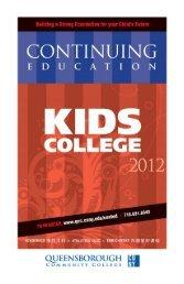 Kids College - Queensborough Community College - CUNY
