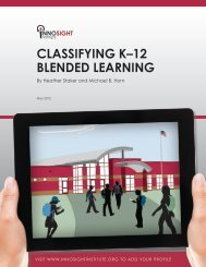 classifying k–12 blended learning - Quakertown Community School ...
