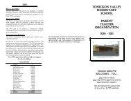 Tohickon Valley Elementary School Parent Teacher Organization