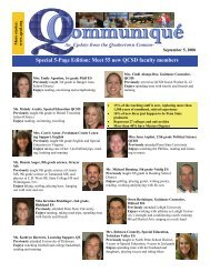 Special 5-Page Edition: Meet 55 new QCSD faculty members
