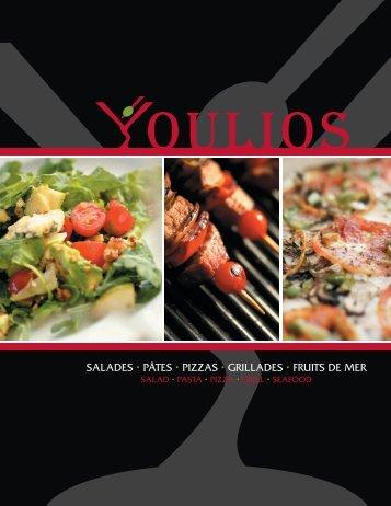 SALADES • PâTES • PIZZAS • GRILLADES • FRUITS DE ... - QDG.ca