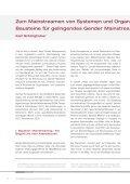 Zum Mainstreamen von Systemen und Organisationen – Bausteine ... - Page 2