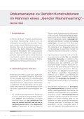 Diskursanalyse zu Gender- Konstruktionen im Rahmen eines ... - Page 2