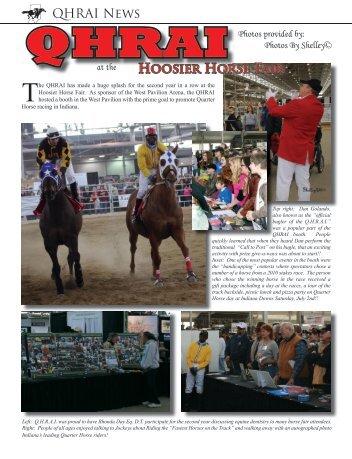2011 Hoosier Horse Fair - QHRAI