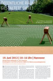Programm - QiN - Quartiersinitiative Niedersachsen