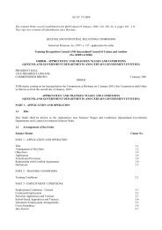apprentices' and trainees' wages and conditions - Queensland ...