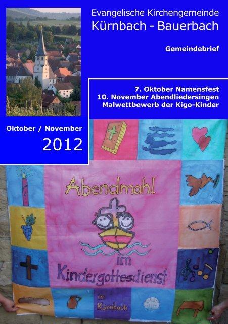 Einladung zum Festgottesdienst - Evang. Kirchengemeinde ...