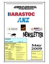QISEA Newsletter - Equestrian Queensland - Equestrian Australia