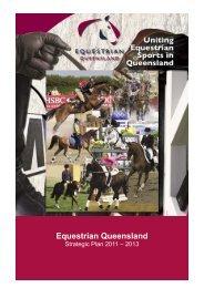 STRATEGIC PLAN 2011—2013 - Equestrian Queensland ...