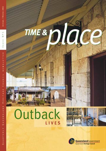 Time and Place Issue 3 Autumn Winter 2002 - Queensland Heritage ...