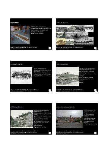 The Barracks - Queensland Heritage Council