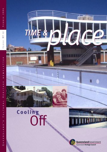 Issue 12—Summer 2006 - Queensland Heritage Council