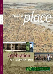 Time and Place Issue 21 Winter 2009 - Queensland Heritage Council