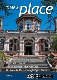 Read our latest edition - Queensland Heritage Council