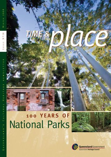 Time and Place Issue 18 Winter 2008 - Queensland Heritage Council