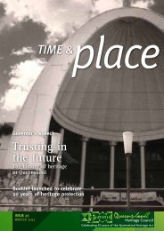 Time and Place Issue 27 Winter 2012 - Queensland Heritage Council