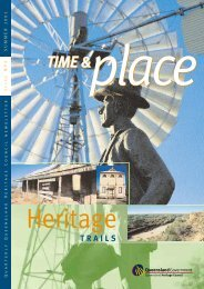 Time and Place Issue 4 Summer 2002 - Queensland Heritage Council