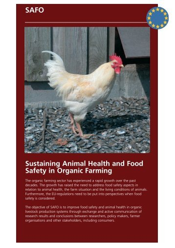 Sustaining Animal Health and Food Safety in ... - CORE Organic